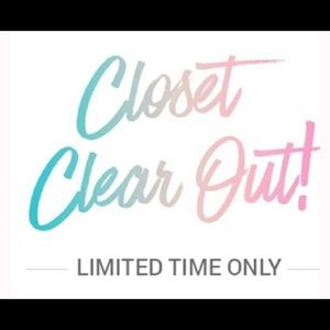 Closet clear out